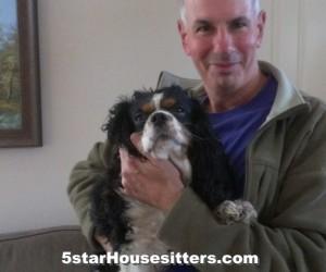 Housesit and petsit for King Charles spaniel near Santa Monica, CA